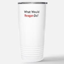 What Would Reagan Do? Travel Mug