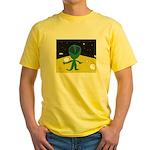 Piper's Alien Yellow T-Shirt