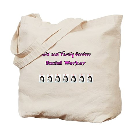 Child and Family Services Tote Bag