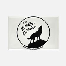 Howlin' Prowler Rectangle Magnet