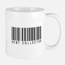 Debt Collector Barcode Mug