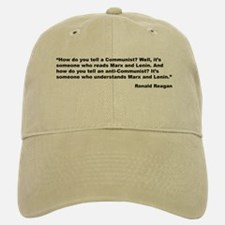 Reagan Communist Quote Baseball Baseball Cap