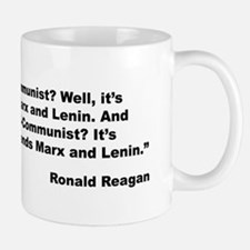 Reagan Communist Quote Mug