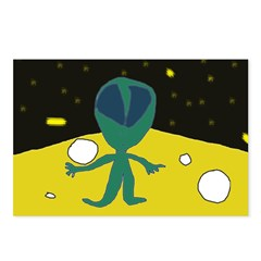 Piper's Alien Postcards (Package of 8)