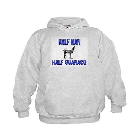 Half Man Half Guanaco Kids Hoodie