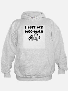 Love my moo-mmy Hoodie