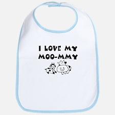Love my moo-mmy Bib