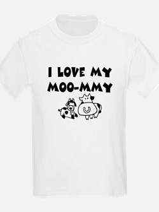 Love my moo-mmy T-Shirt