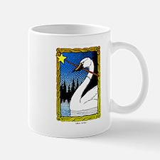 'Swan Magic' Color Mug