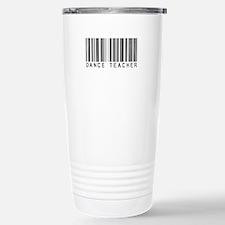 Dance Teacher Barcode Travel Mug