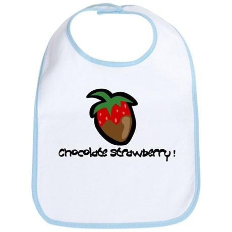 Chocolate Strawberry Bib