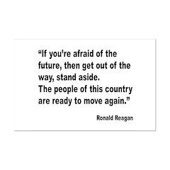 Reagan Future Quote Posters