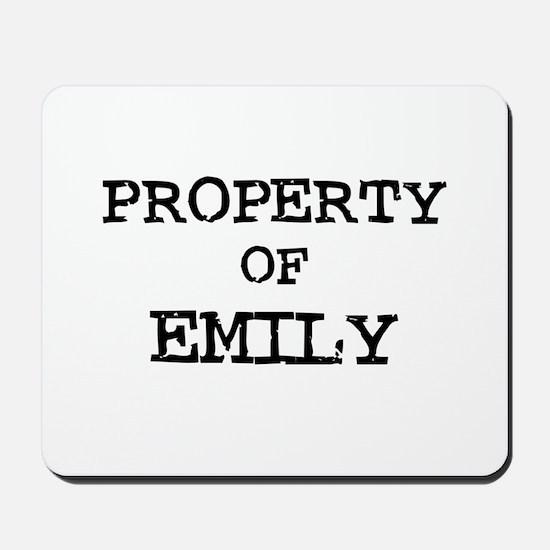 Property of Emilio Mousepad
