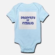 Property of Emilio Infant Creeper