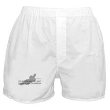 To Ski Or Not To Ski (Waterskiing) Boxer Shorts