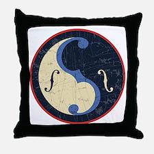Yin-f-Yang Throw Pillow
