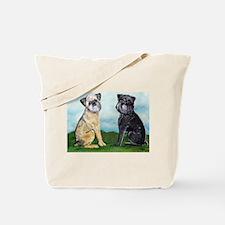 Brussels Griffon Best Friends Tote Bag