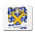 Champion Family Crest Mousepad