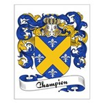Champion Family Crest Small Poster