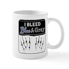 Bleed Blue & Gray Mug