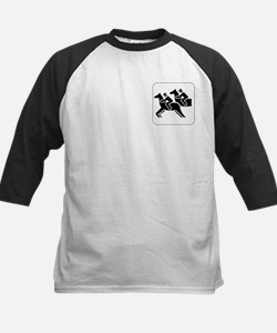 Horse Racing Icon Kids Baseball Jersey