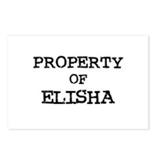 Property of Elisha Postcards (Package of 8)