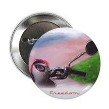 """Freedom Scooter 2.25"""" Button"""