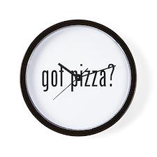 got pizza? Wall Clock