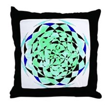 Sphere 2 Color 1 Throw Pillow