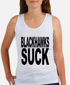 Blackhawks Suck Women's Tank Top