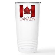 Canada Souvenir Flag Travel Mug