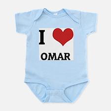I Love Omar Infant Creeper