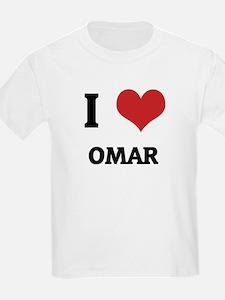 I Love Omar Kids T-Shirt