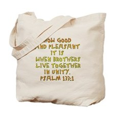 Psalm 133:1 Tote Bag