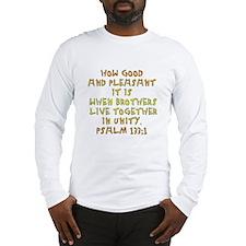 Psalm 133:1 Long Sleeve T-Shirt