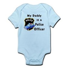 My Daddy Is A Police Officer Infant Bodysuit