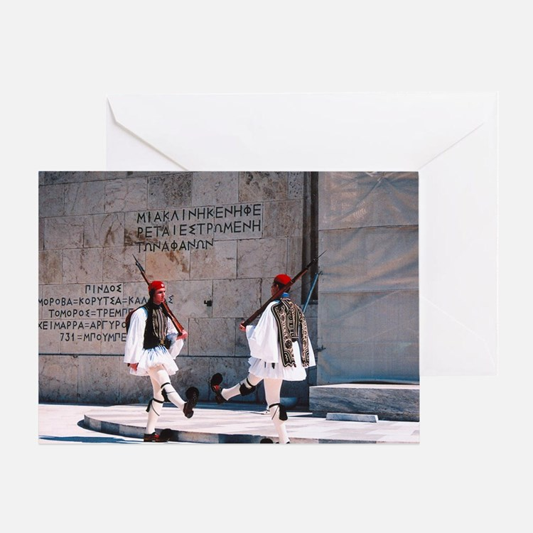 Cute Athens Greeting Card