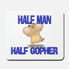 Half Man Half Gopher Mousepad