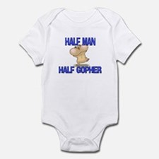 Half Man Half Gopher Infant Bodysuit