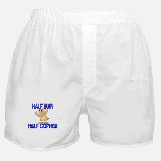 Half Man Half Gopher Boxer Shorts