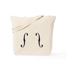 F-Holes Tote Bag