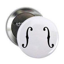 """F-Holes 2.25"""" Button (100 pack)"""