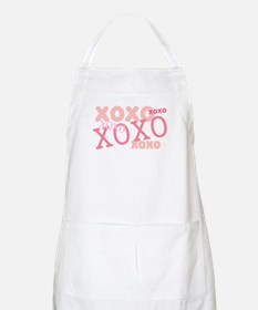 Pink XOXO Hugs and Kisses BBQ Apron