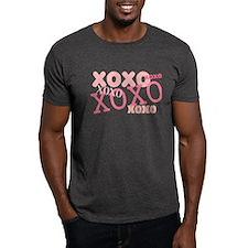 Pink XOXO Hugs and Kisses T-Shirt
