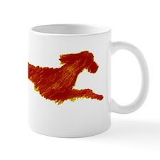 Leaping Irish Setter Mug