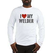 I Love My Welder Long Sleeve T-Shirt