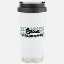 Barack Obama Travel Mug