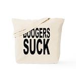 Boogers Suck Tote Bag