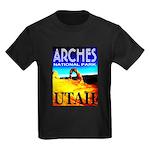 Arches National Park, Utah Kids Dark T-Shirt