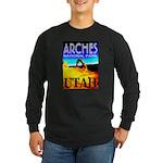 Arches National Park, Utah Long Sleeve Dark T-Shir